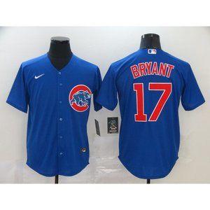 Chicago Cubs Kris Bryant Blue Jersey